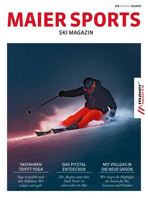 Maier Sports Magazin Winter 2019/20