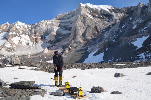 Working in the Antarctic
