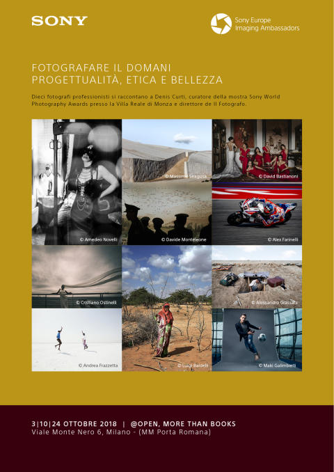 Fotografare il domani @Open More Than Books