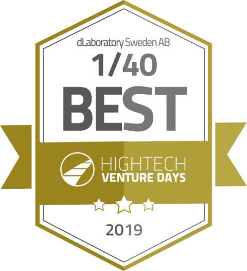 dLab en av Europas 40 främsta high-tech startups