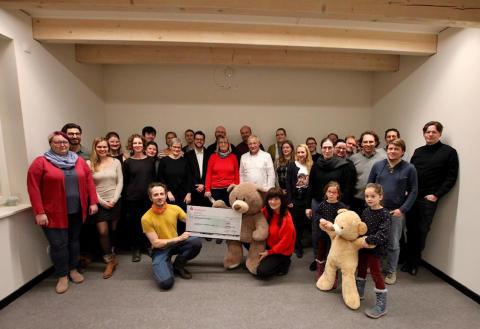 10 Jahre Benefizkonzerte für Bärenherz: GewandhausChor Leipzig singt vor großem und kleinem Publikum