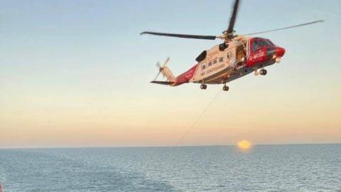 'Esvagt Njord' redder syv fiskere