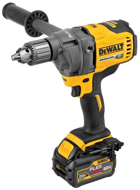 DEWALT® Announces 60V MAX* Mixer/Drill with E-Clutch® System