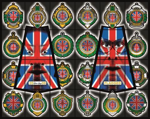 Gilbert & George, FLAGGED, 2008