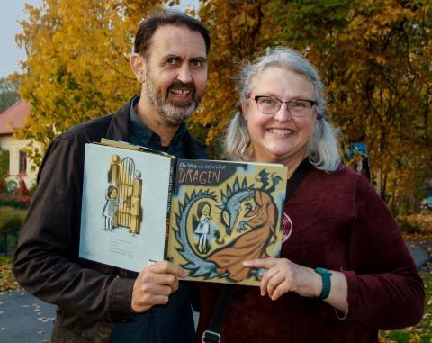 NÅR MOR ER TYRANN. Gro Dahle og Svein Nyhus med ny bildebok om tabubelagt tema