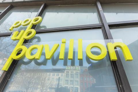 Pop Up Pavillon präsentiert vielfältiges Programm bis Ende des Jahres. Auftakt macht Kiel 2042