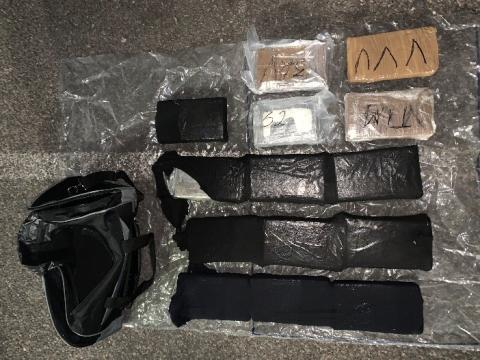 Two men caught with £1.4 million of cocaine plead guilty to supplying Class A drugs