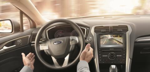 Nye Ford Mondeo - interiørbilde