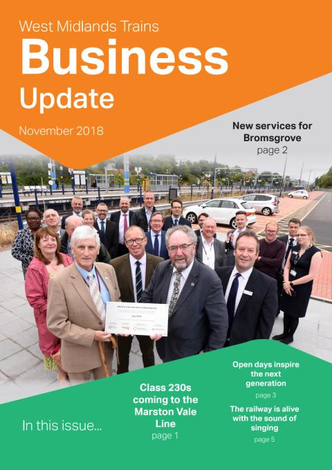 West Midlands Trains Business Update - Nov 2018