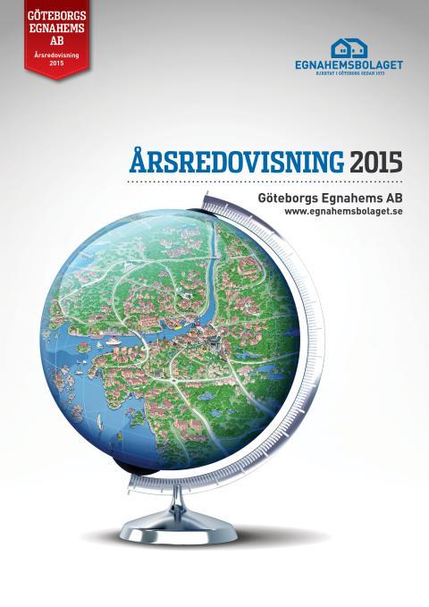 Årsredovisningen 2015 - Rekord i antal bostäder för Egnahemsbolaget