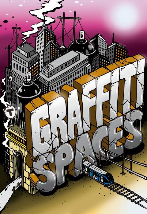 Graffiti Spaces affisch