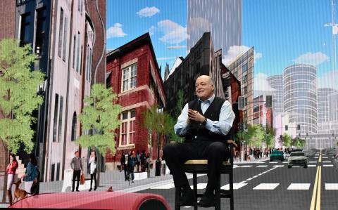 Fords CEO Jim Hackett til CES 2018