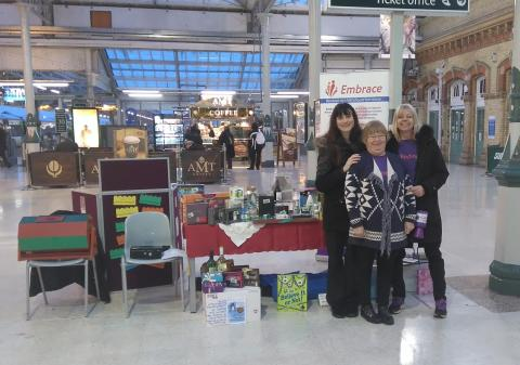 Southern staff 'embrace' local charity