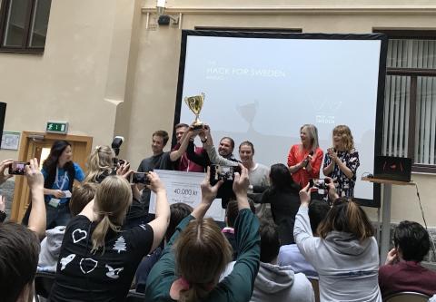 Vinnarna av Hack for Sweden 2018!