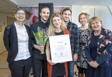 Startupbolaget Harvest får stipendium för matproduktion till minne av Anna Borgeryd