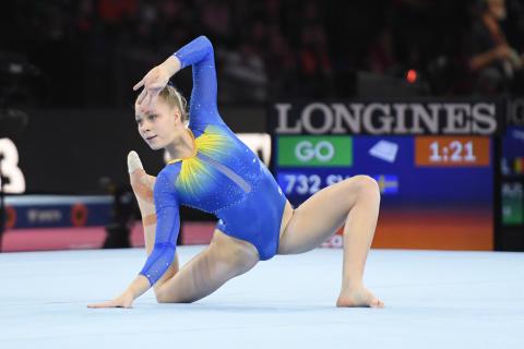 VM-kval kvinnlig artistisk gymnastik
