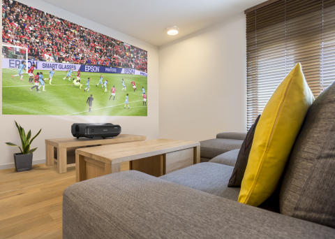 Epson launches world's first ultra-short throw 3LCD laser home theatre projector