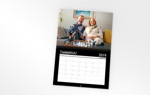 Kuukausikalenteri 2019 pariskunta