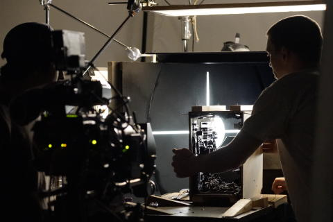 Sony - Cymatics - Behind the scenes