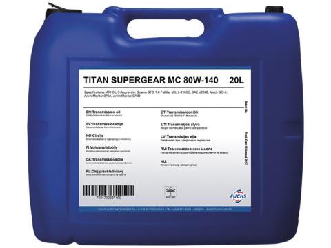 Esittelyssä TITAN SUPERGEAR MC SAE 80W-140