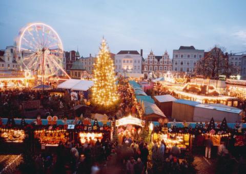 Nordtyske julemarkeder: Wismar