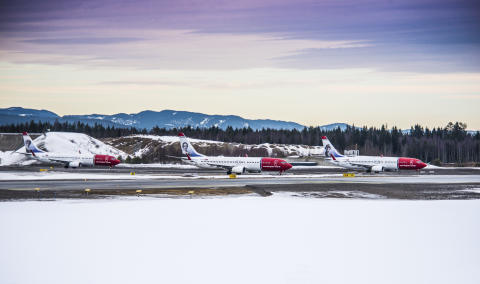 Norwegian reports continued passenger growth and high load factor
