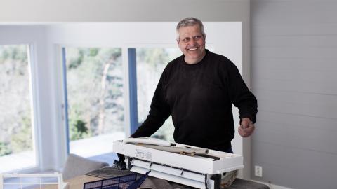 Varmepumpe-installatør Fredrik Selebø