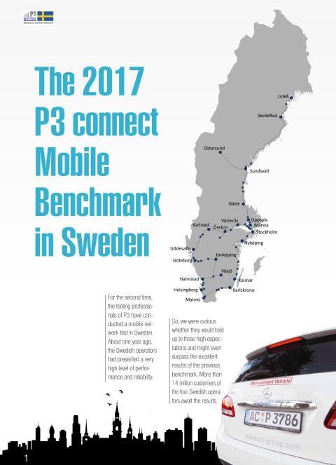 Telias mobilnät bäst. Igen. Nu internationell toppklass enligt ny P3-rapport