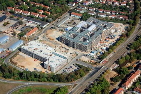 Neue dm-Zentrale in Karlsruhe-Durlach