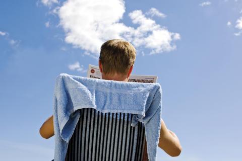 Sju av tio småföretagare tänker jobb under semestern