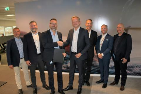 Sckenker och Green Cargo avtalsskrivning okt 2019
