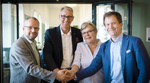 Ersta Sköndal högskola får 40 miljoner från ägarna till forskning om människan i välfärdssamhället