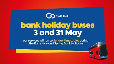 May Bank Holidays – 3 and 31 May