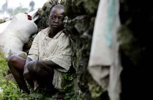 Barn riskerar att rekryteras till barnsoldater i Kongo