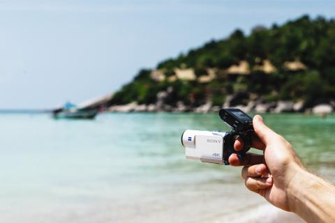 Mød FDR-X3000R – et nyt, overlegent 4K Action Cam fra Sony