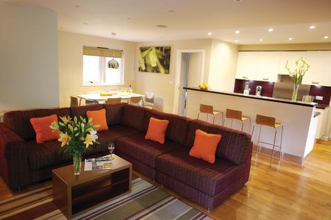 Executive Lodge Living Area