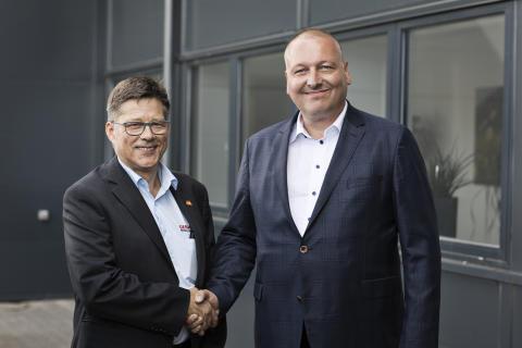 Lars Krejberg Petersen og Volker Nicolai