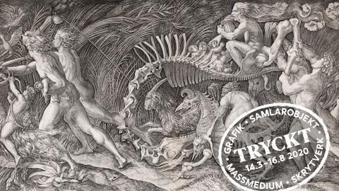 Verk av renässansens och barockens stora grafiker i vårens första utställning på Göteborgs konstmuseum