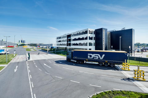 DSV and Clarks open first facility on mainland Europe