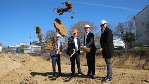 Construction start for residential and commercial development at Welfenstraße in Wiesbaden