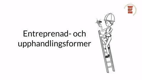 Entreprenad- och upphandlingsformer – vad är skillnaden?