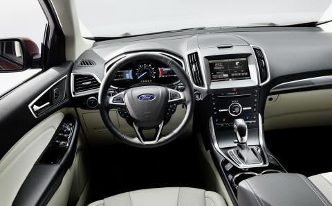 Nye Ford Edge lanseres i Europa i slutten av 2015