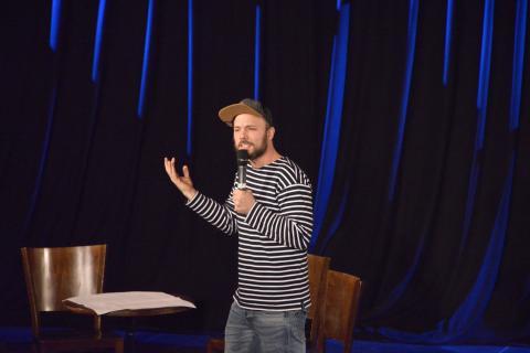 Kupfersaal - Auftritt von Slam-Poet Nils Straatman