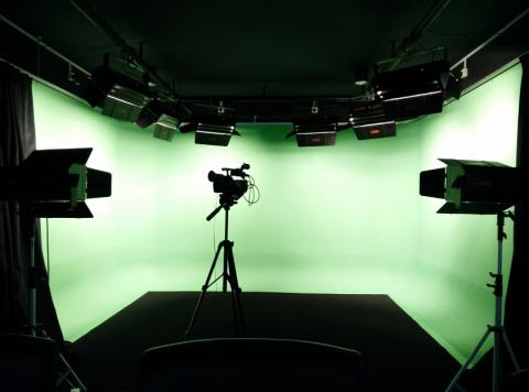 Green screen studio bookings made easy through HBM's self-service portal