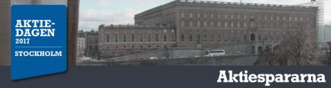 Bolagspresentation av Idogen på Aktiedagen i Stockholm 15 maj