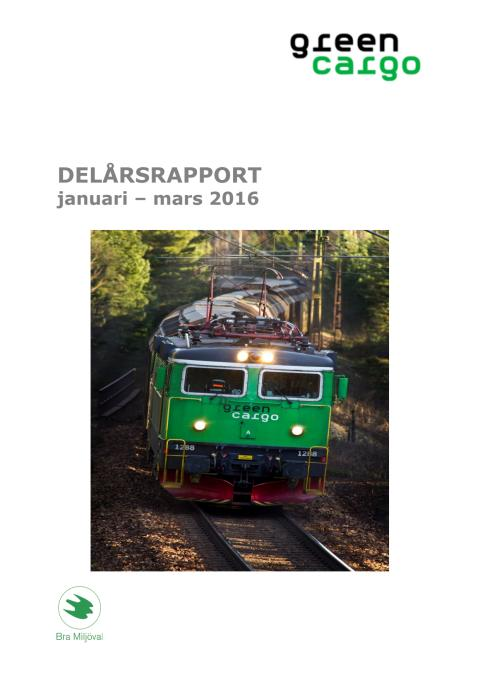 Delårsrapport Q1 2016
