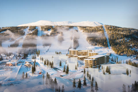 Trysil Alpine Lodge byggetrinn 1