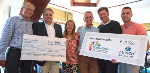 Zurich Benefiz-Golf-Turnier: Spielend Gutes tun