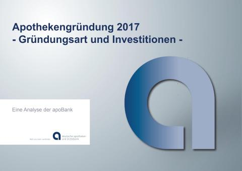 Grafiken: Apothekengründung 2017