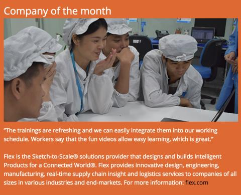 Company of the month  - Flex